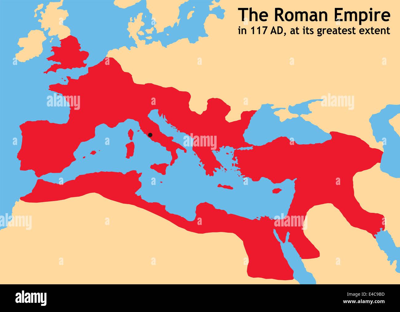 Römisches Reich Größte Ausdehnung