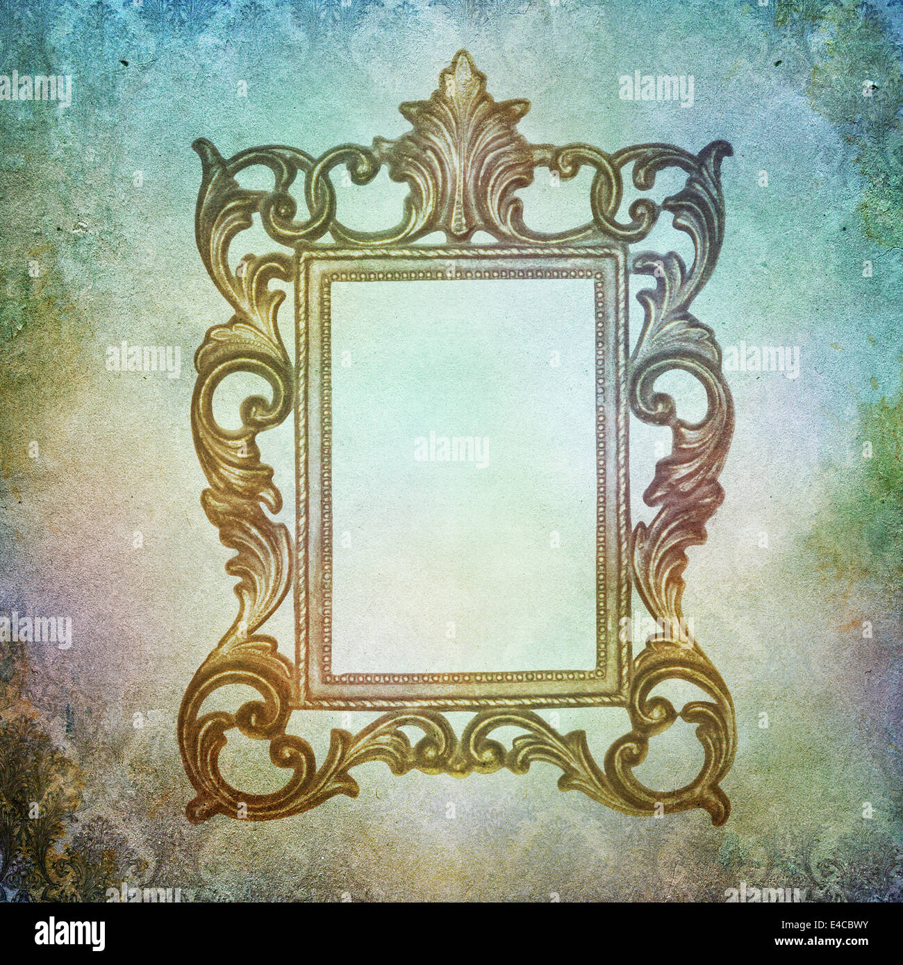 Vintage Shabby Chic Background With Frame Stock Photo 71572871 Alamy