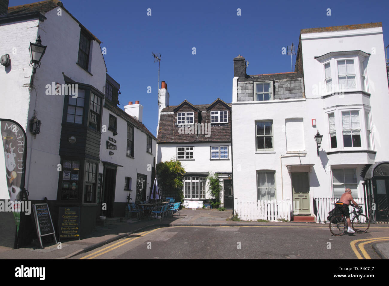 The Old Curiosity Shop Harbour Street Broadstairs Kent - Stock Image