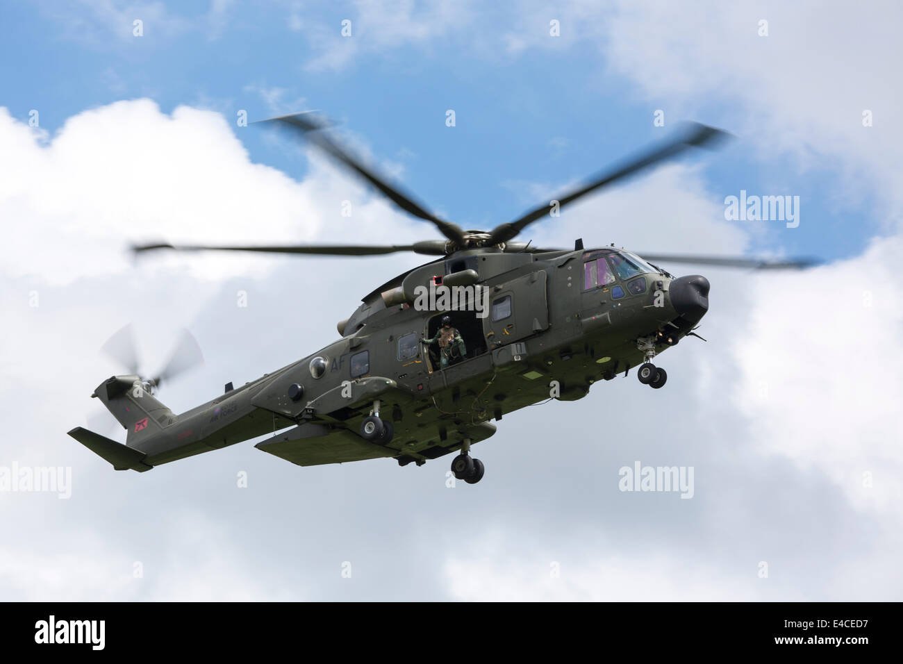 Royal Air Force Agusta Westland Merlin HC.3A ZK001 - Stock Image