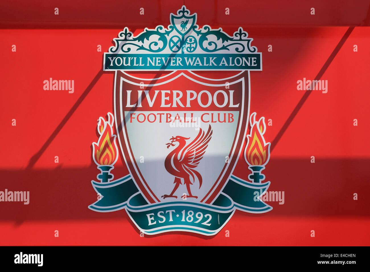 65cacbf2c The Liverpool football club emblem