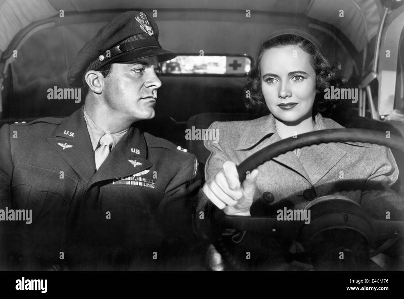 THE BEST YEARS OF OUR LIVES 1946 Samuel Goldwyn film with Dana Andrews and Teresa Wright - Stock Image