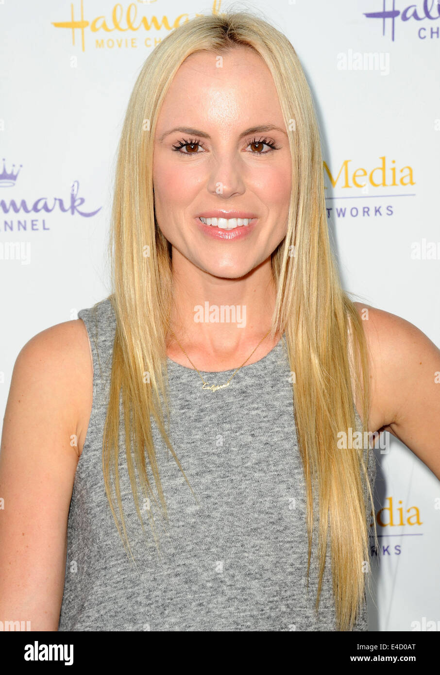 Jesse Jane Attending The Hallmark Channel And Hallmark Movies Mysteries Summer Tca Press Tour Held At Northpole Manor In Beverly Hills California On July