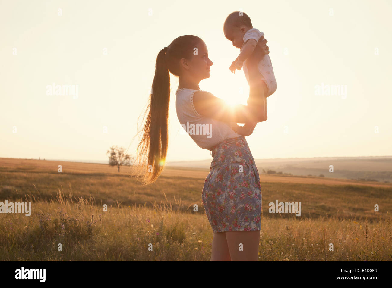 Happy family - Stock Image