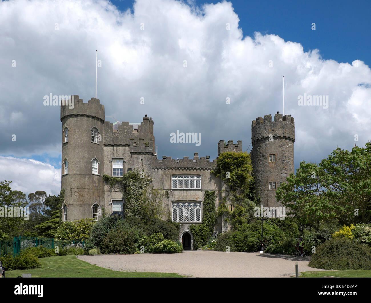 Malahide Castle, County Fingal, Ireland - Stock Image