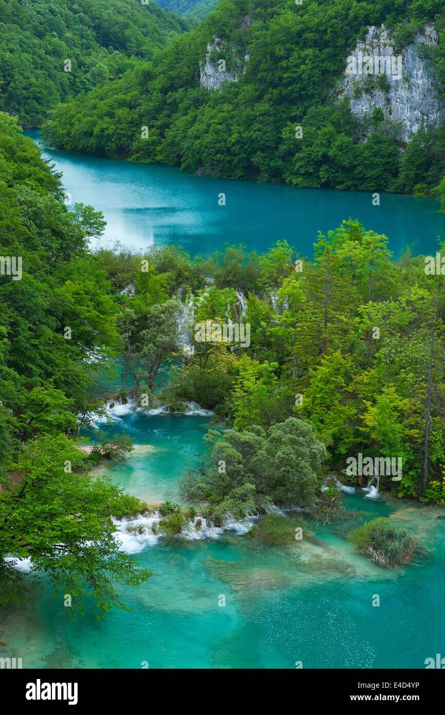 Plitvice Lakes National Park: In Croatia Waterfalls Plitvice Lakes Stock Photos & In