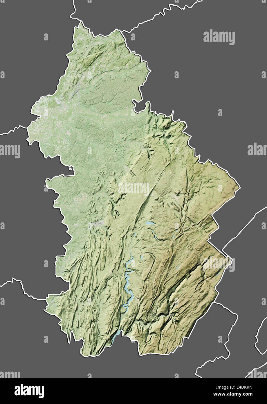 Map Of France Jura.Departement Of Jura France Relief Map Stock Photo 71601033 Alamy