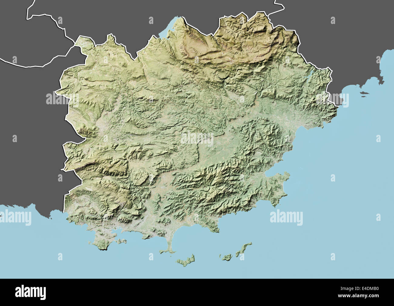 Map Of The Alps In France.Relief Map French Alps Stock Photos Relief Map French Alps Stock