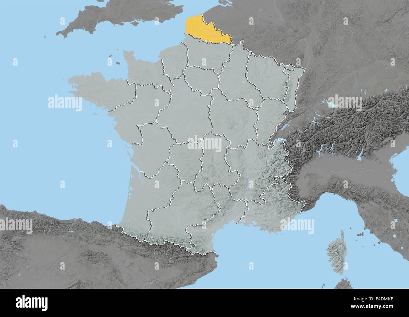 Calais Europe Map.Nord Pas De Calais France Europe Map Stock Photos Nord Pas De