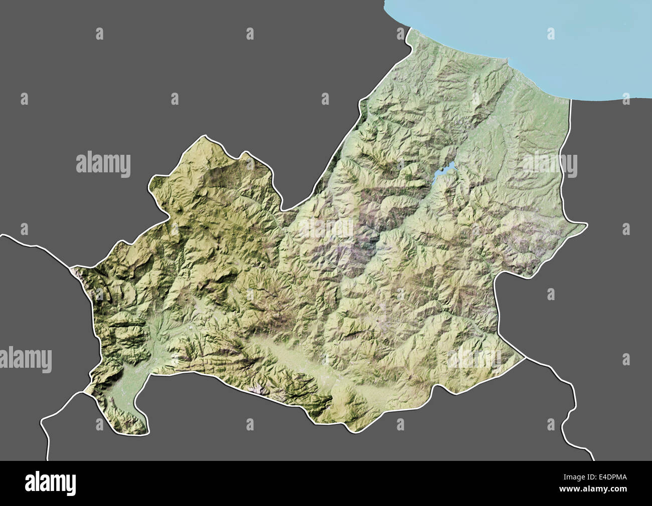 Regione Molise Cartina Fisica.Map Of Molise High Resolution Stock Photography And Images Alamy