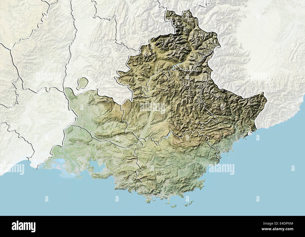 Provence Map Stock Photos Provence Map Stock Images Page