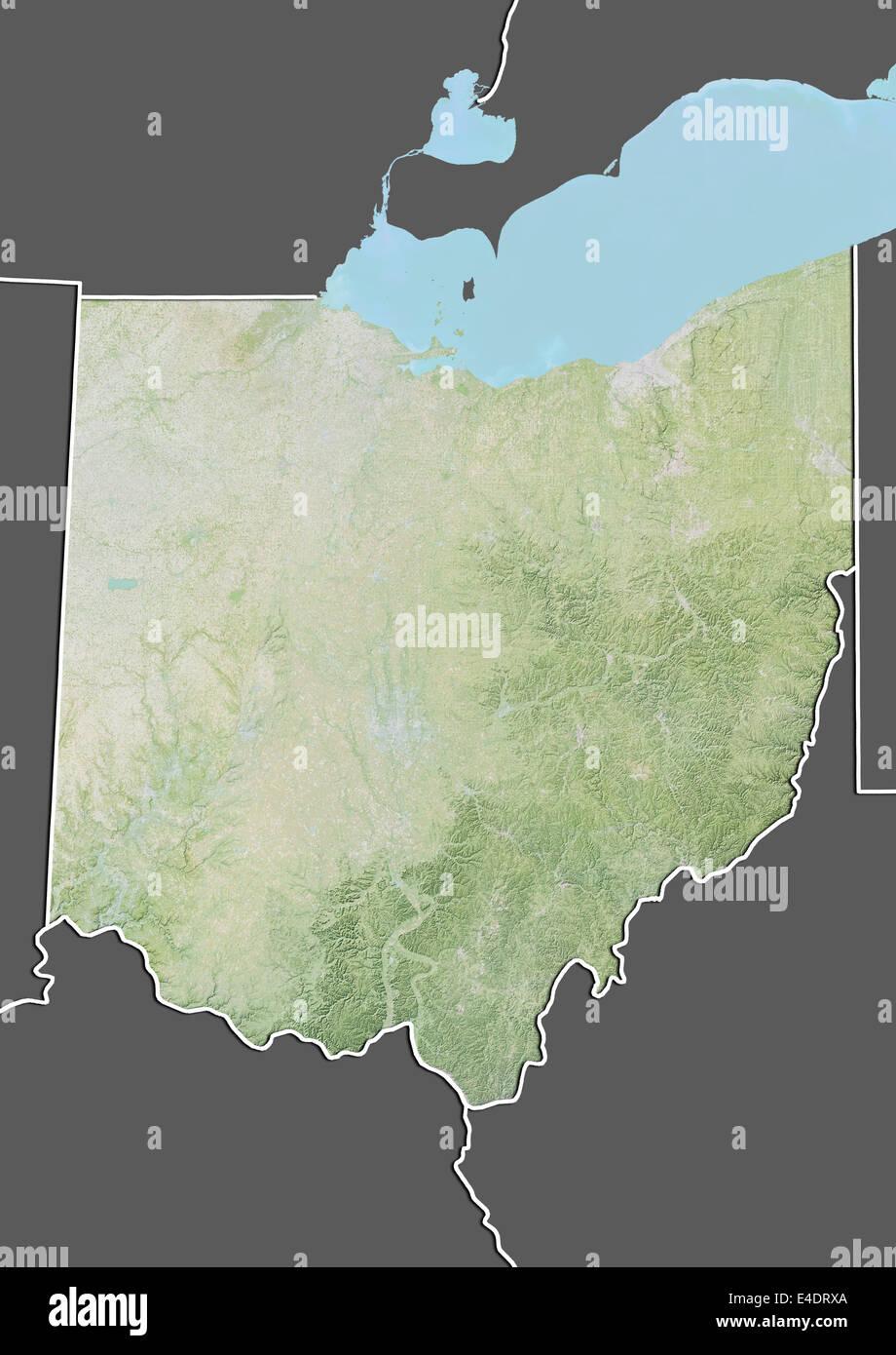 Map Satellite Geography Ohio Stock Photos & Map Satellite ... on airports of ohio, aerial maps ohio, digital map of ohio, detailed map of cleveland ohio, google map of ohio, road map of ohio, map of the ohio, topographical map of ohio, weather of ohio, large maps of ohio, seismic map of ohio, coordinates of ohio, map of downtown columbus ohio, pdf map of ohio, united states of ohio, village of ohio, physical map of ohio, aerial view of belle valley ohio, northfield center ohio, elevation of ohio,
