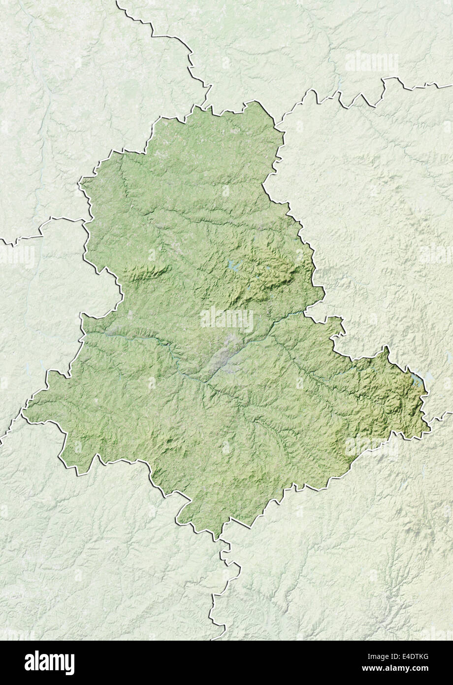 Map Of Limousin Stock Photos Map Of Limousin Stock Images Alamy