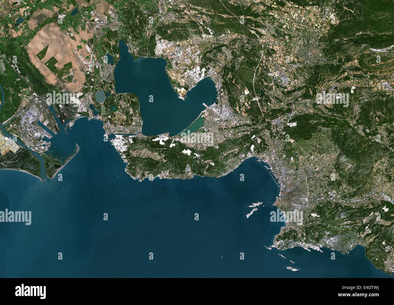Vue aerienne satellite en temps réel