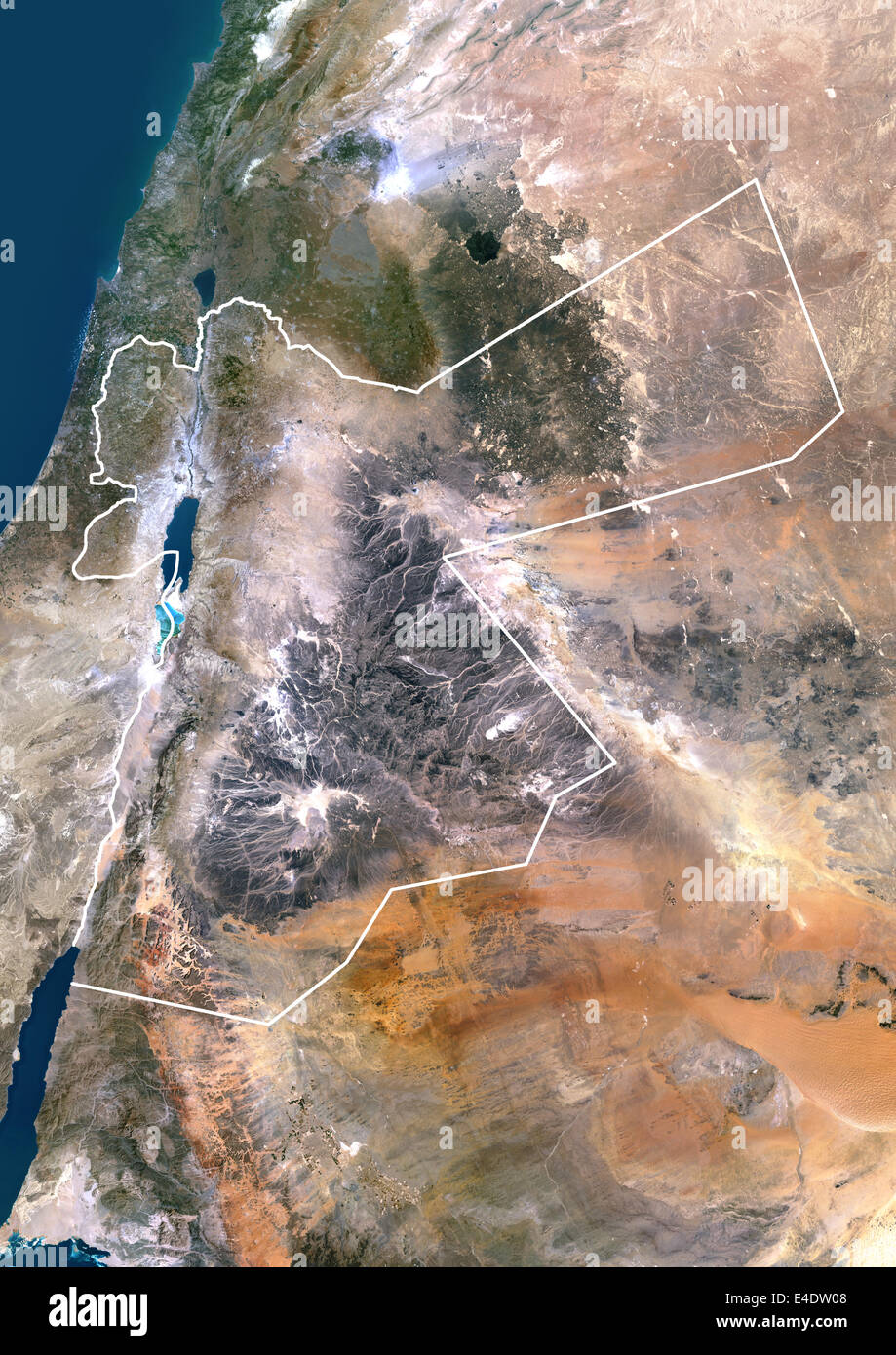 Jordan, Middle East, Asia, True Colour Satellite Image With ... on biblical middle east map jordan, biblical cities of the bible, biblical maps then and now, biblical map of jordan, biblical map vs today's map, biblical world map, biblical maps with modern map overlay, biblical antioch map, biblical maps of rome, biblical maps of egypt, biblical mediterranean map of crete, biblical middle east map overlay, biblical map of macedonia greece, biblical maps of turkey, biblical map of iraq, biblical maps of europe, biblical lands of israel, people from the middle east, biblical map of africa, biblical israel map,
