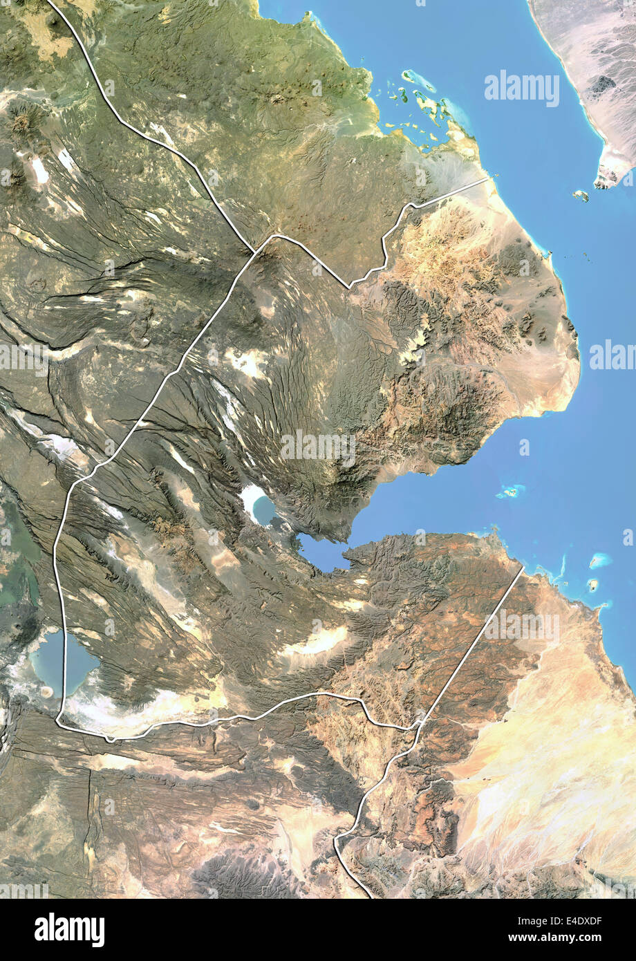 Djibouti, Satellite Image With Bump Effect, With Border ... on topo map of djibouti, political map of djibouti, sports of djibouti, detailed map of djibouti, terrain map of djibouti, outline map of djibouti, blank map of djibouti, world map of djibouti, street map of djibouti, physical map of djibouti, topographical map of djibouti,