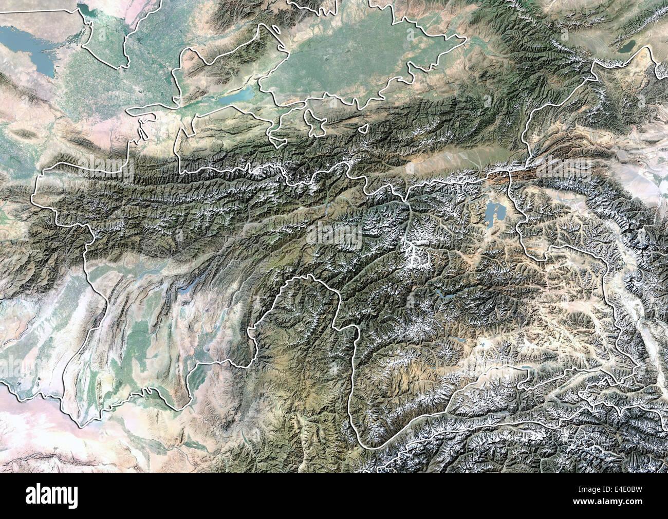 Спутник картинка таджикистан