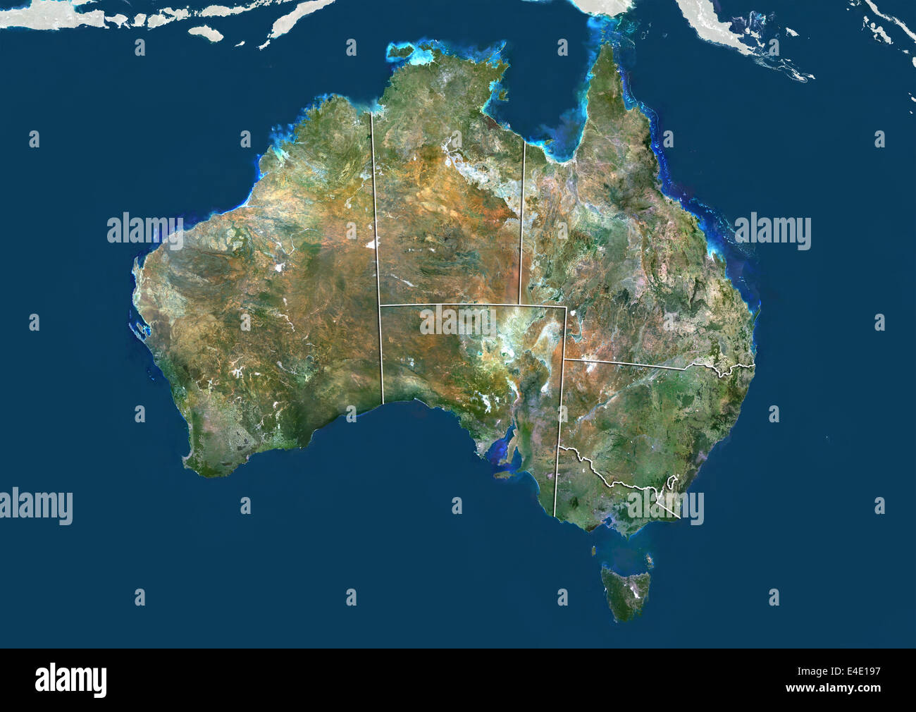 Map Of States Of Australia.Australia Map States Stock Photos Australia Map States Stock