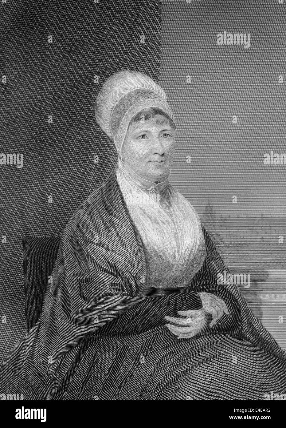 Elizabeth Fry, 1780 - 1845, née Gurney, an English prison reformer, social reformer and a Christian philanthropist Stock Photo