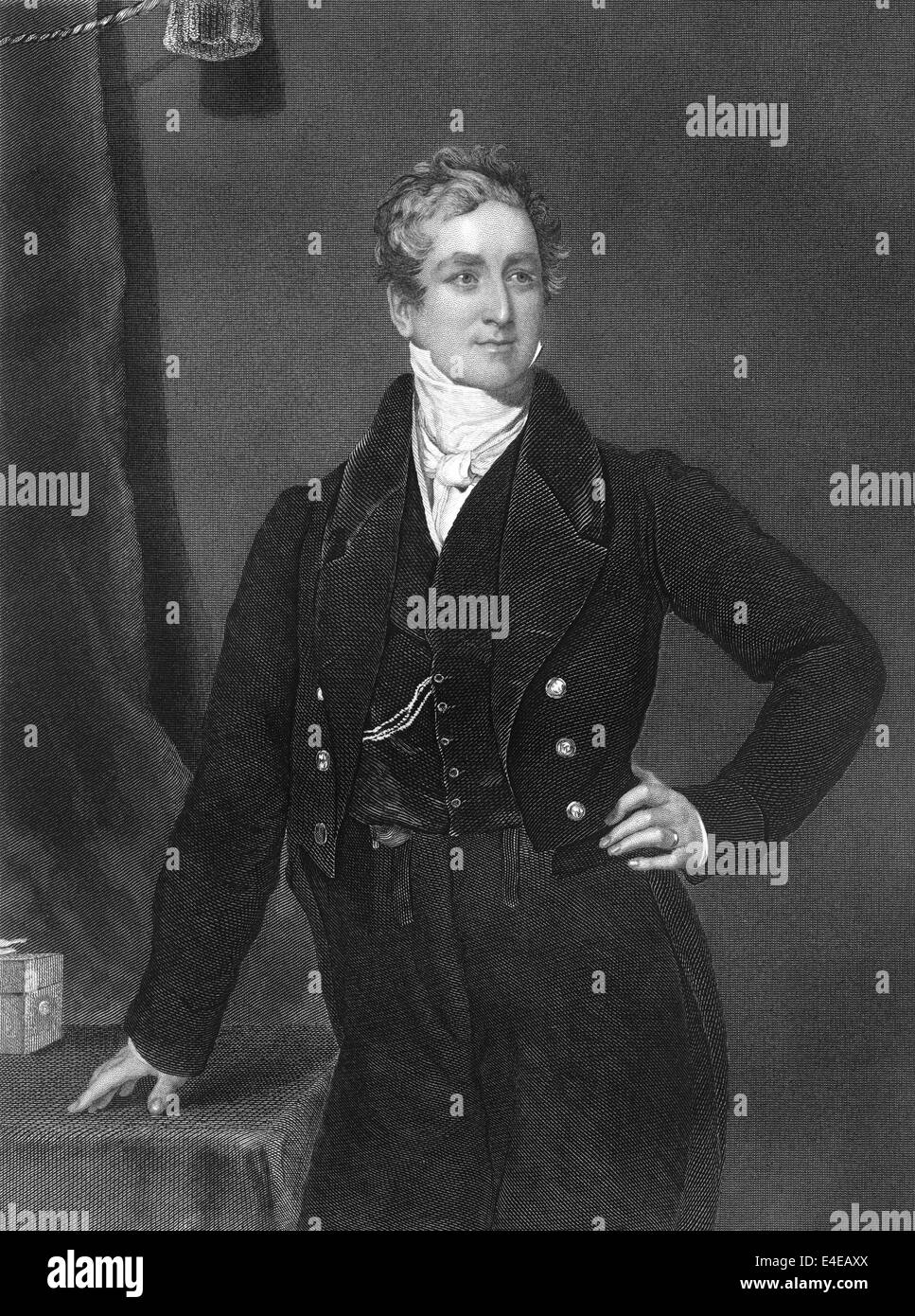 Sir Robert Peel, 1788 - 1850, 2nd Baronet Peel of Clanfield, a British politician, prime minister - Stock Image