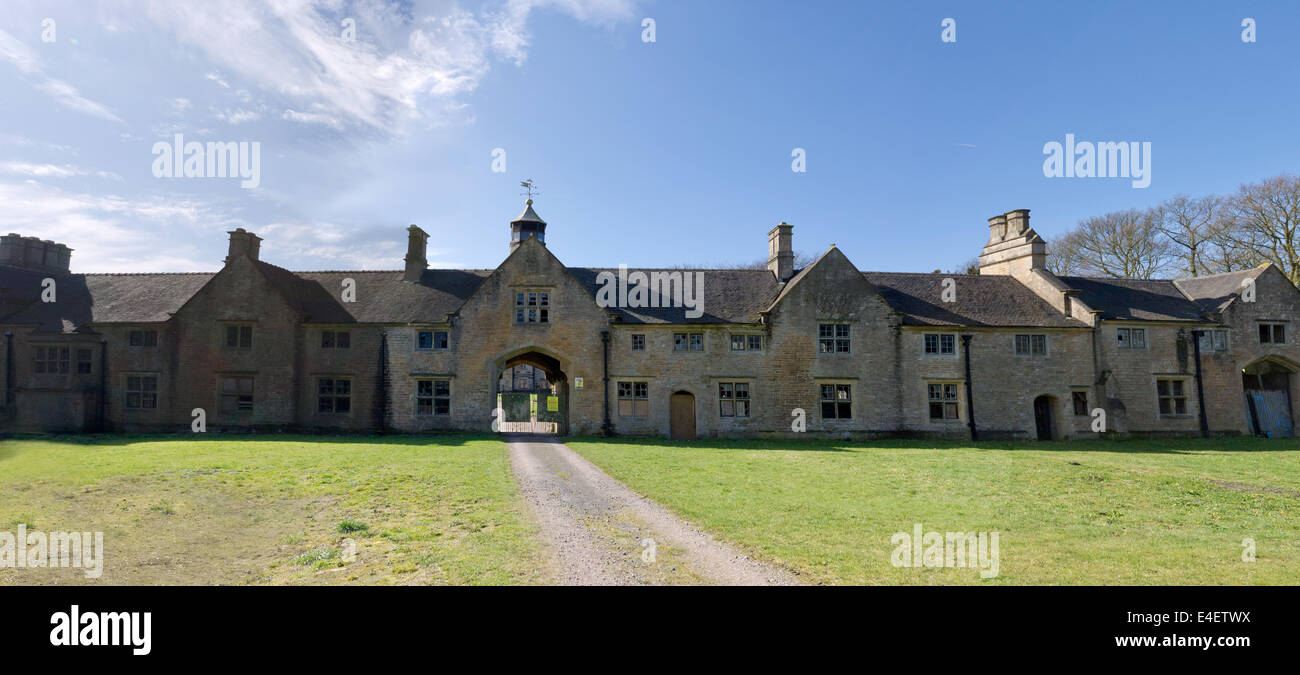 Annesley Hall Grade II listed country house - Stock Image