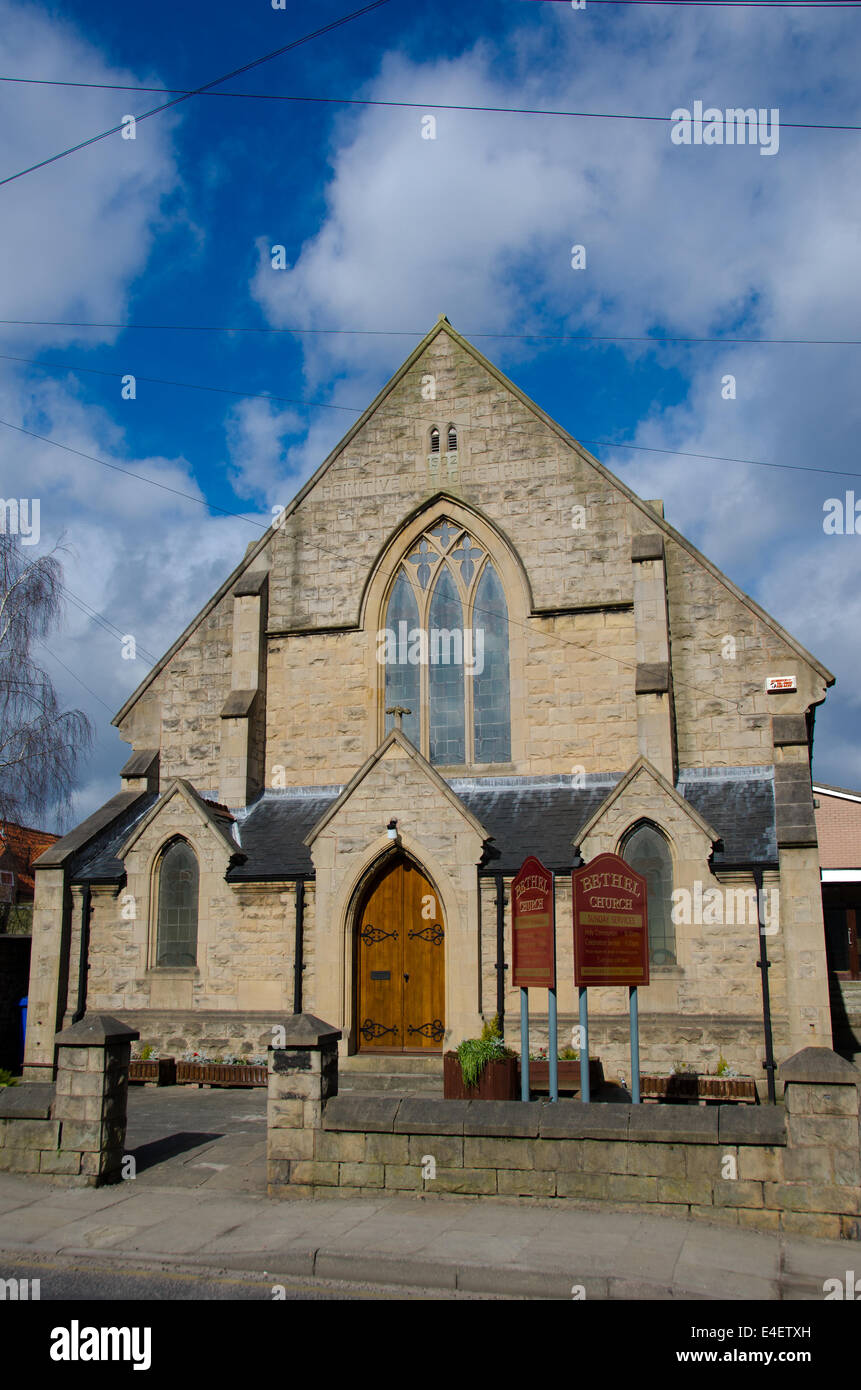 Traditional Building Primitive Methodist Church 1902 Stock Image