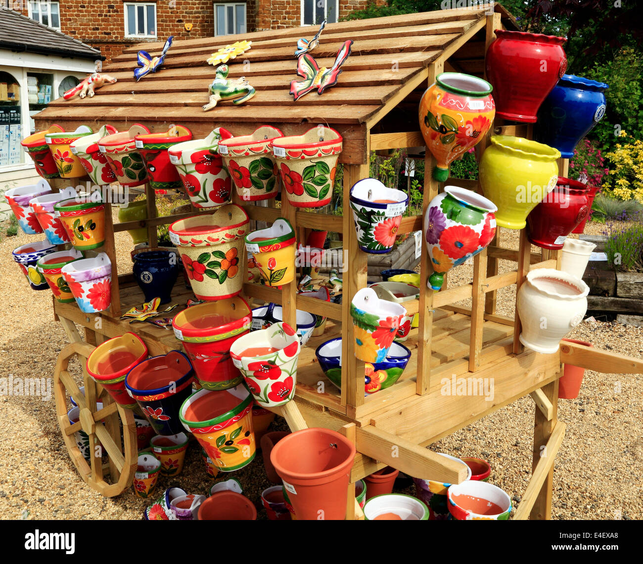 Colorful Garden Pots Colourful colorful decorative pots planters containers garden colourful colorful decorative pots planters containers garden nursery sales england uk workwithnaturefo