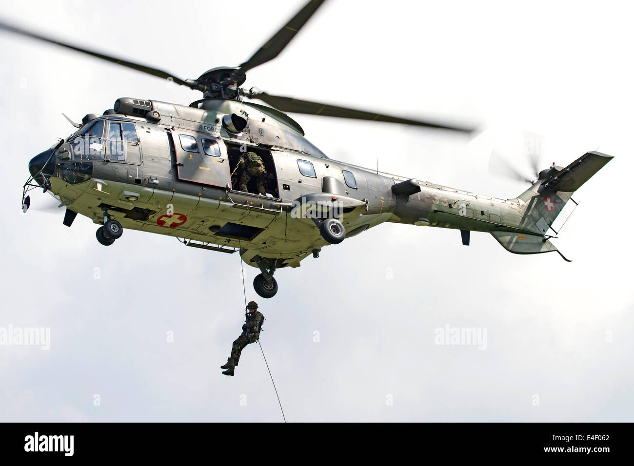 Swiss Air Force SAR Super Puma Military Helicopters t f4dc41db939