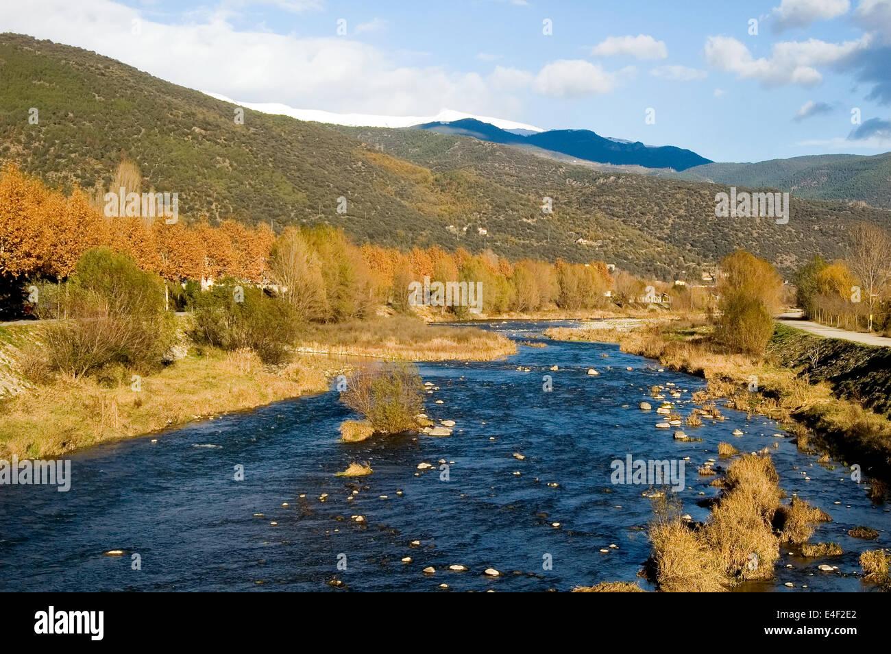Pyrenees mountains, Spain Stock Photo