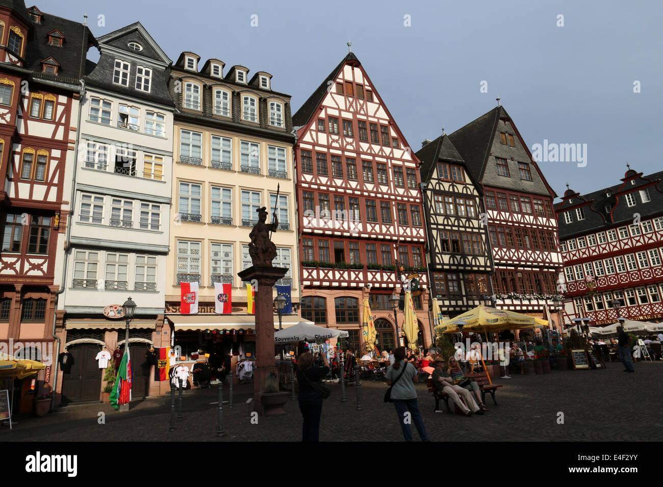 Weihnachtsmarkt Frankfurt Main.Weihnachtsmarkt Römerberg Frankfurt Am Main Hessen Germany