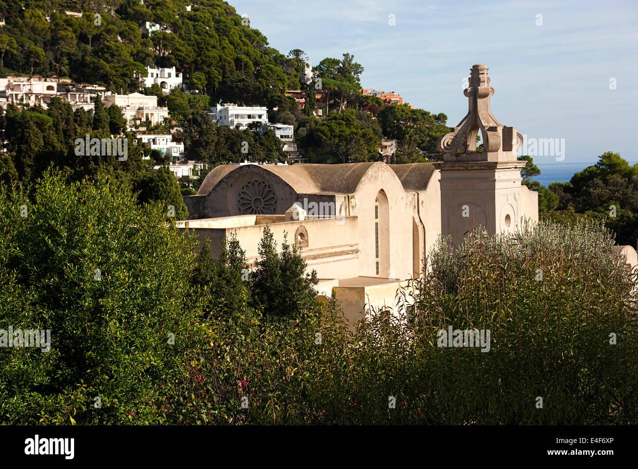 San Giacomo Charter house ( monastery ), Augusta Gardens, Capri ...