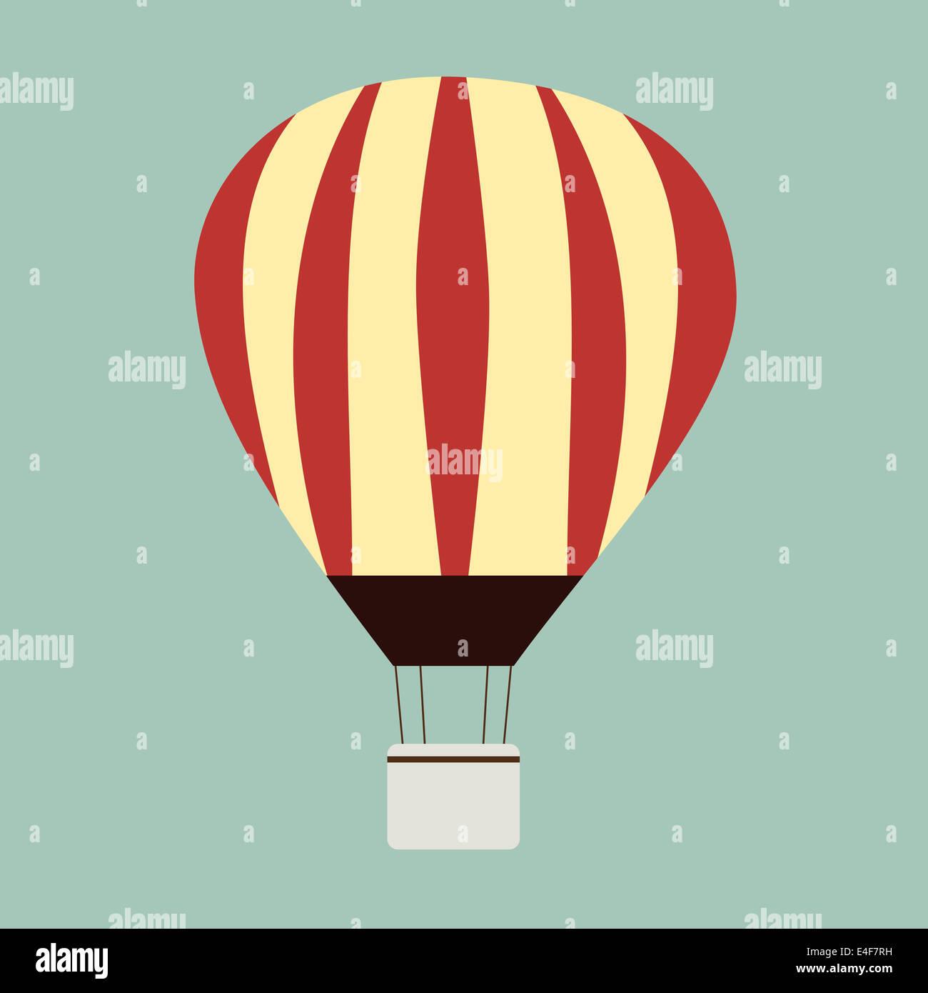 Hot Air Balloon Print Stock Photos Hot Air Balloon Print Stock