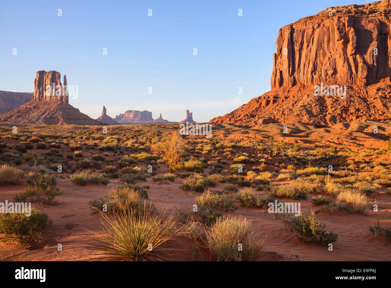 Monument Valley, Merrick Butte. Arizona, USA - Stock Image