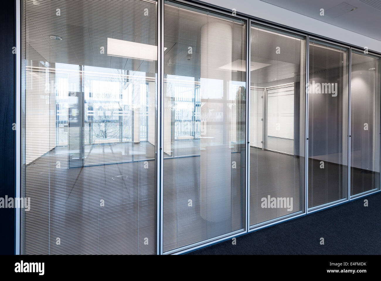 Modern Office Property - Stock Image