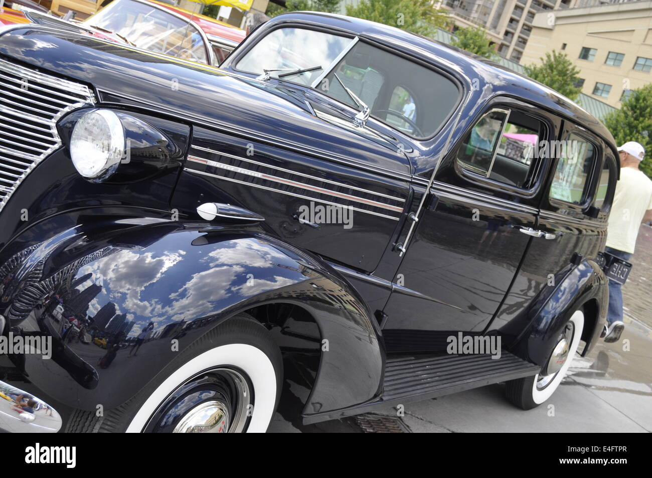 classic old car - Stock Image