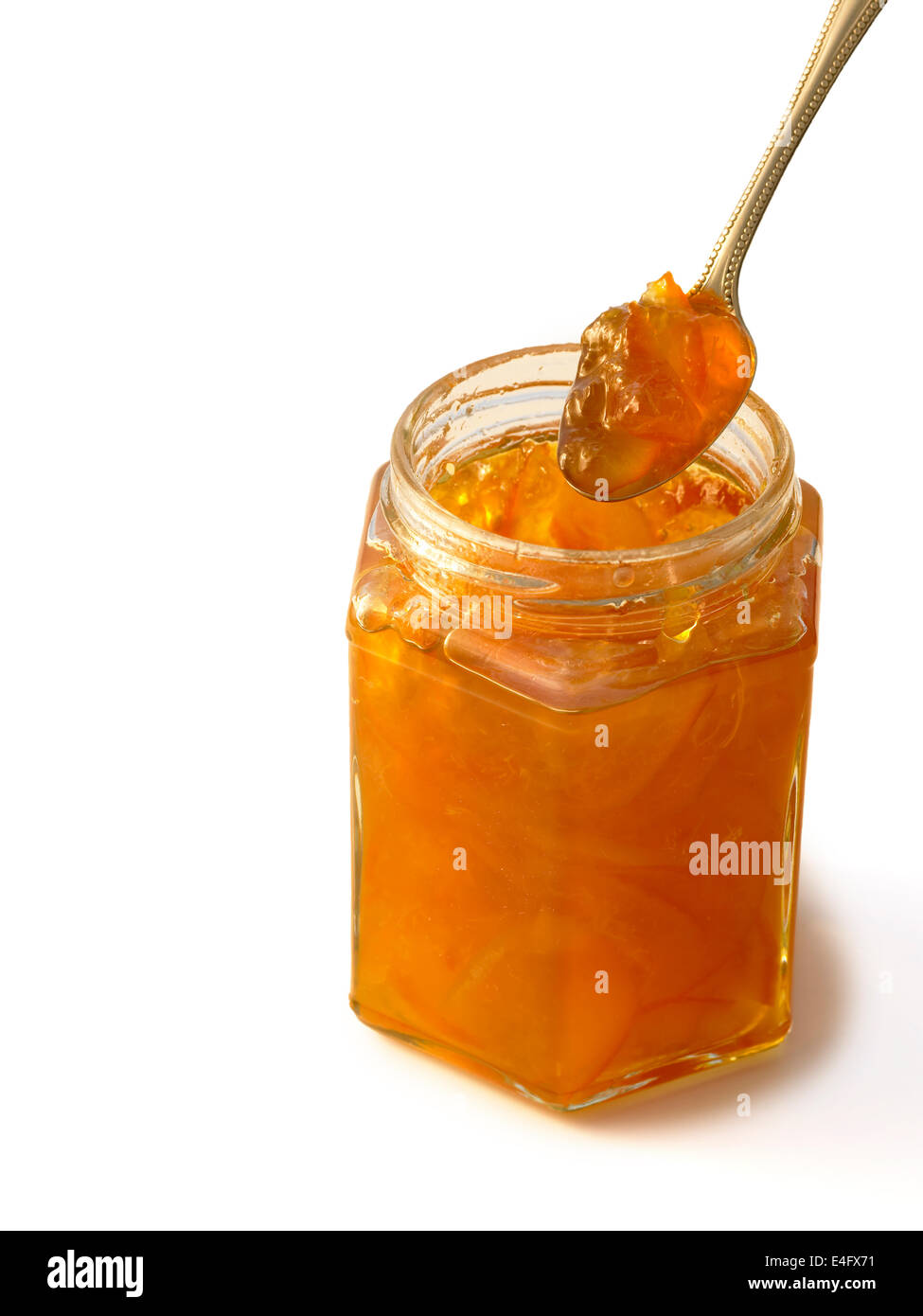 home made marmalade - Stock Image