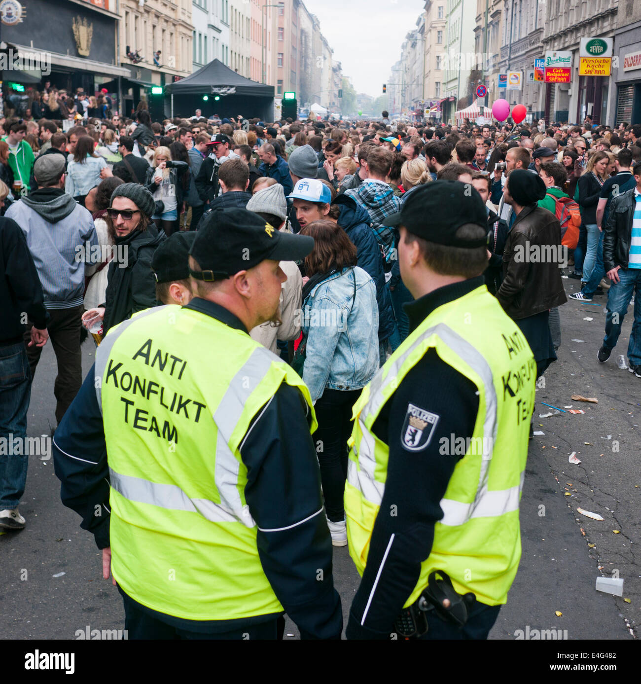 Anti Konflikt Team - Stock Image