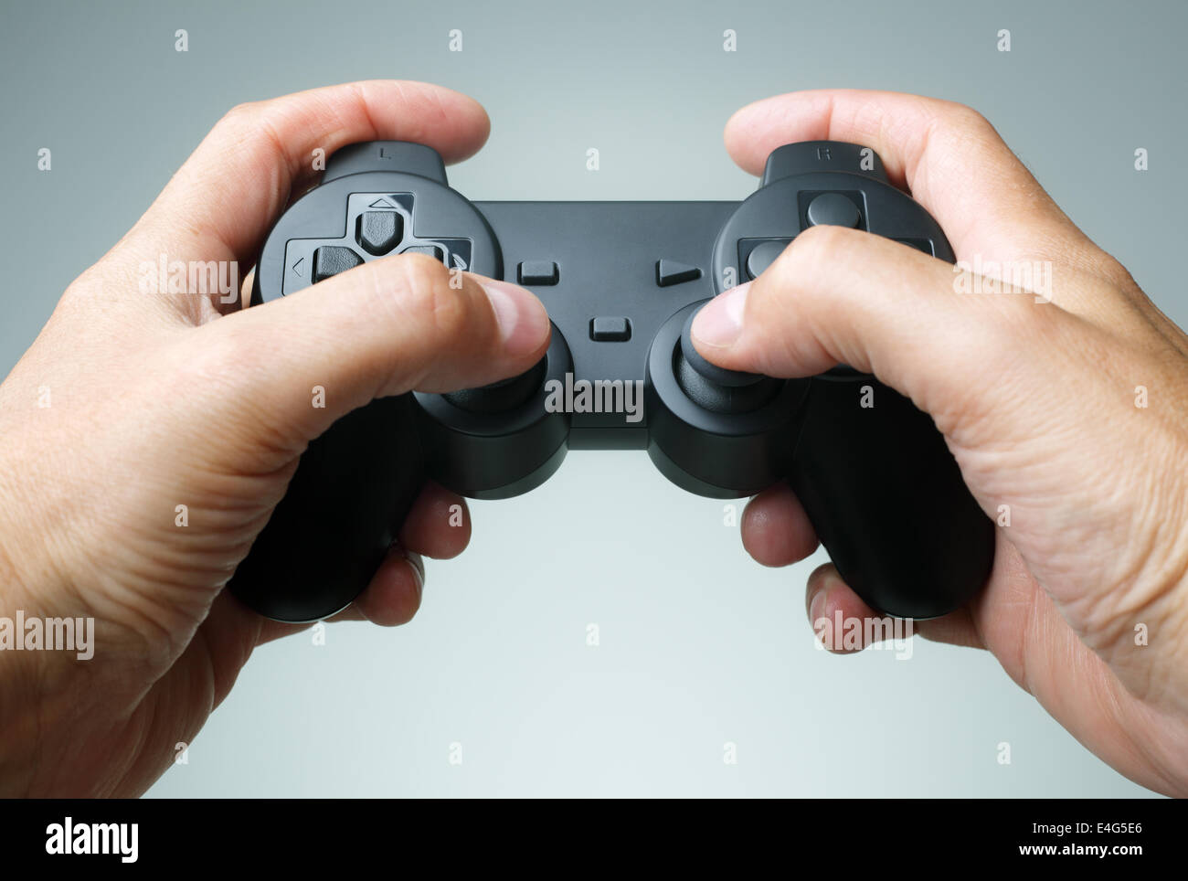 Game console controller - Stock Image