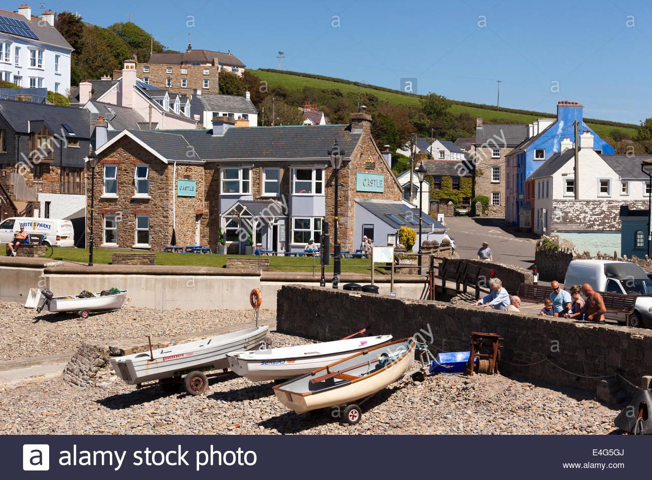 Little Haven Pembrokeshire Wales Britain UK - Stock Image