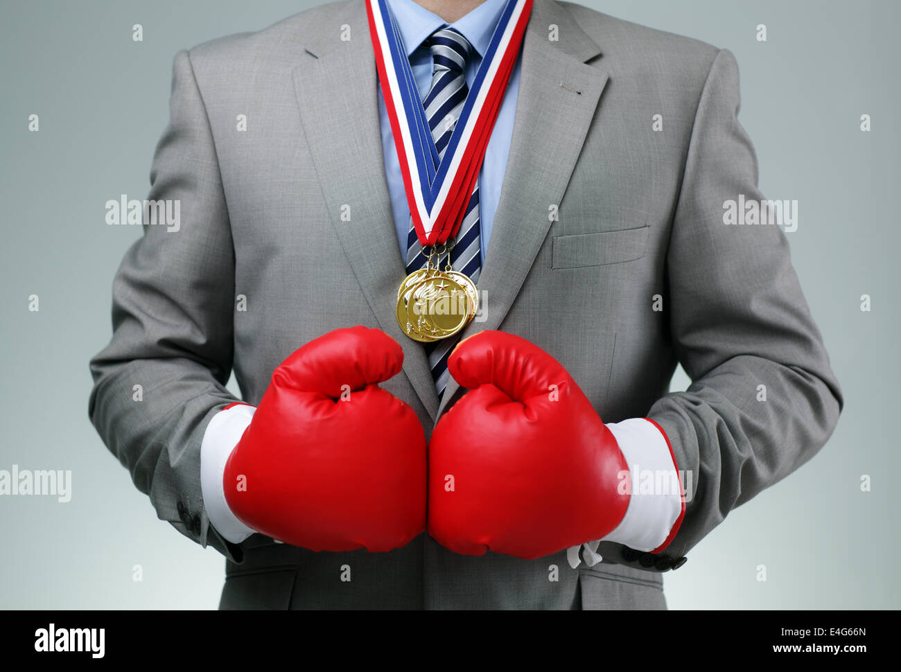 Competitive business - Stock Image