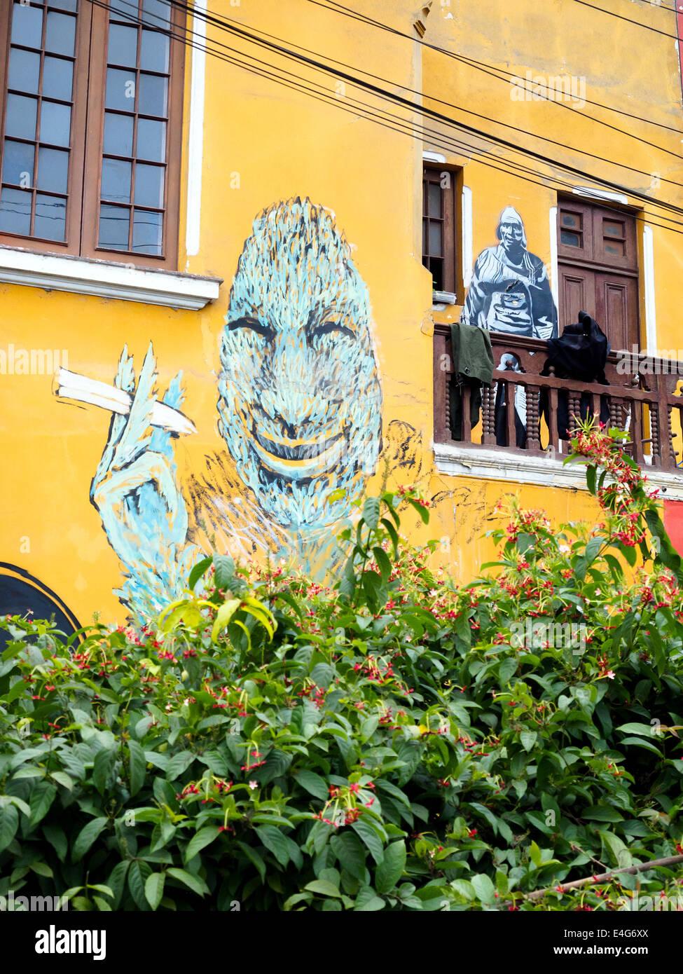 Lima Barranco Art Stock Photos & Lima Barranco Art Stock Images - Alamy