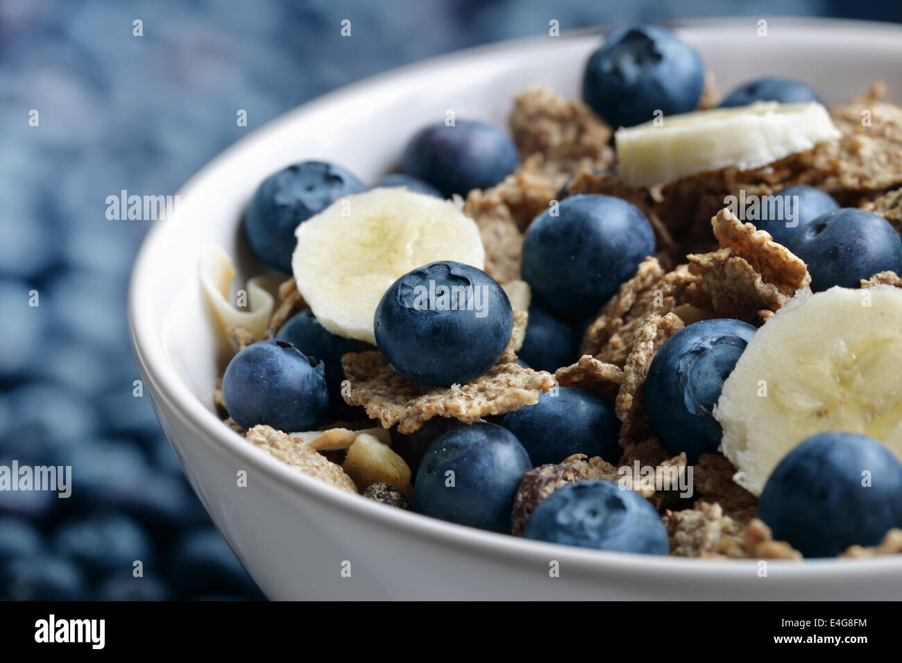 Healthy breakfast - Stock Image