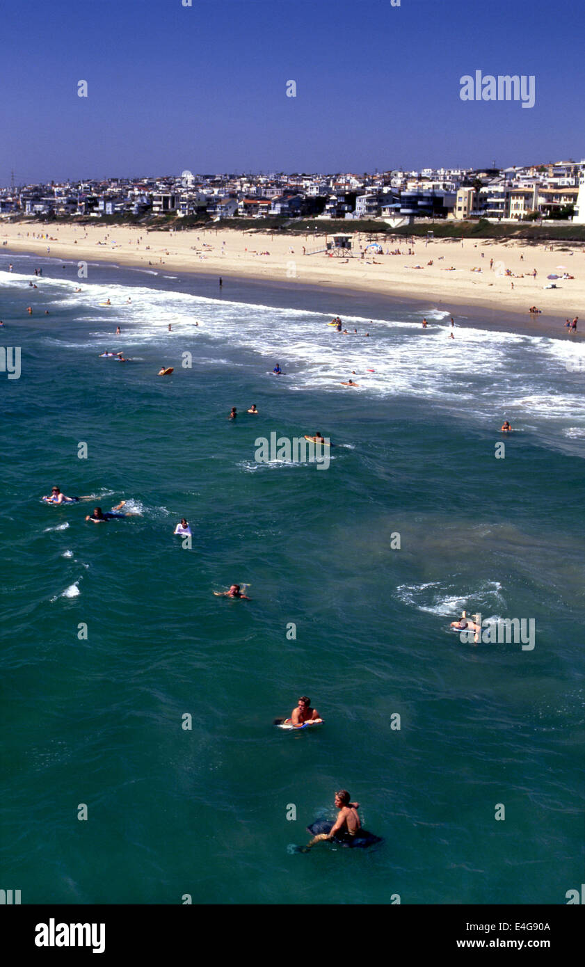Manhattan Beach, California - Stock Image