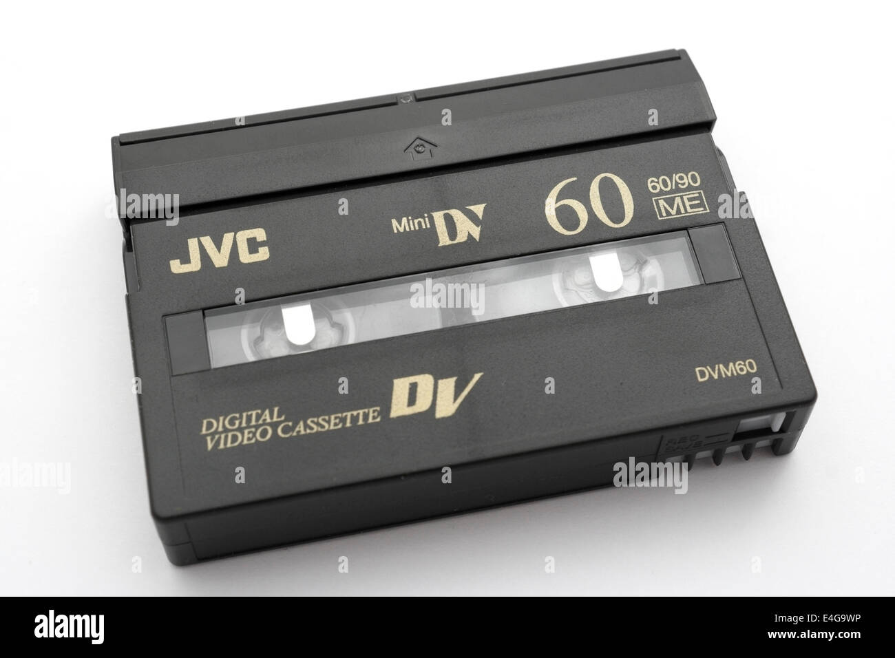 Mini Dv Digital Video Cassette By Jvc Stock Photo