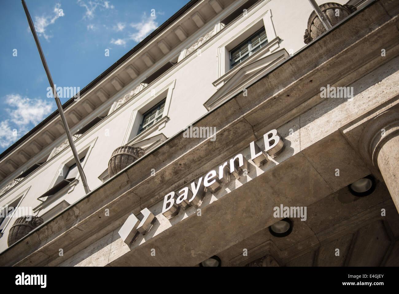 Bayern LB - Bayerische Landesbank, Munich, Germany - Stock Image