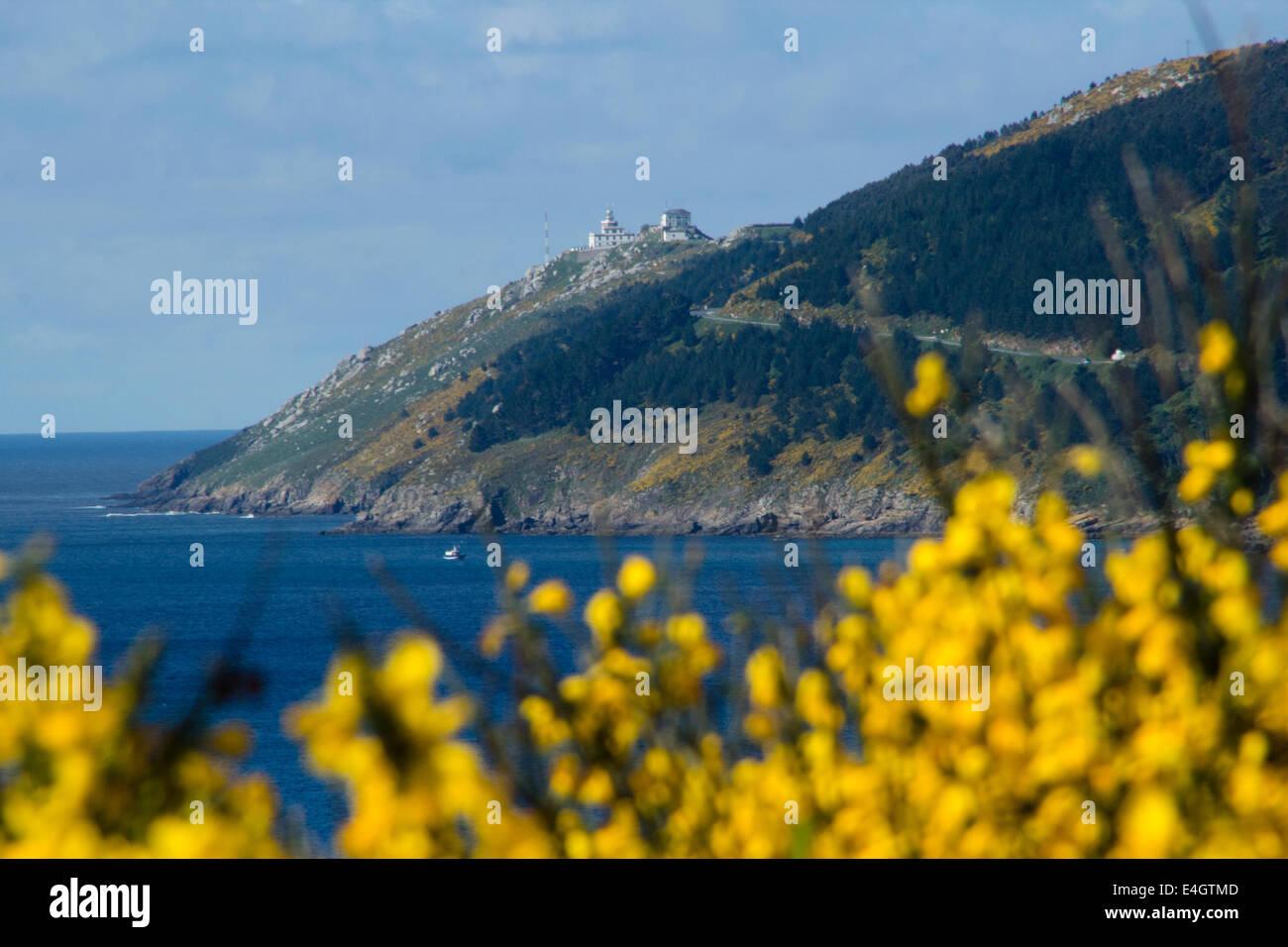 Finisterre - Great walk of St. James, Jakobsweg, Camino de Santiago, Spain - Stock Image