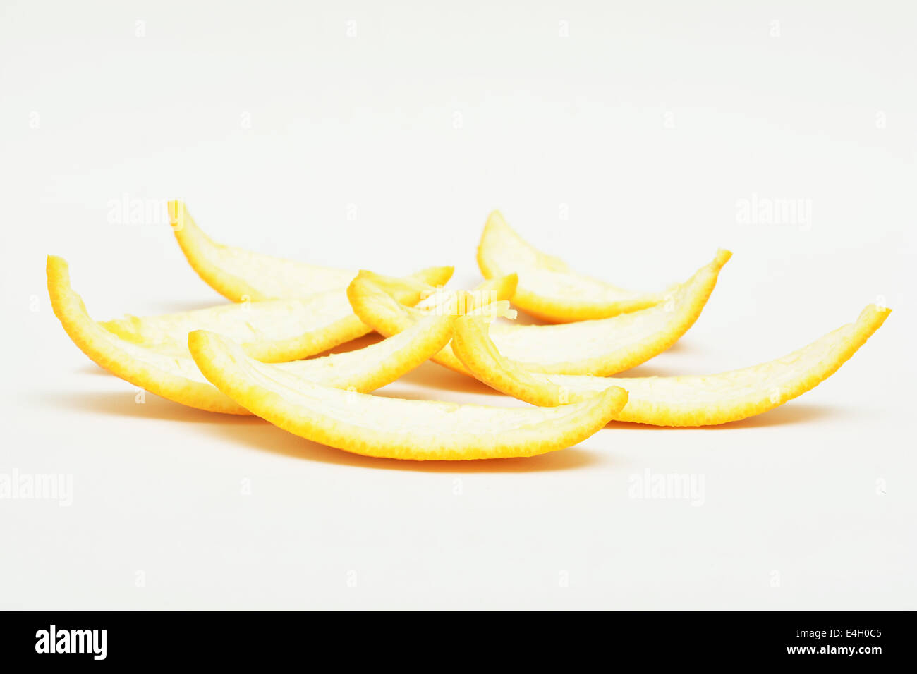 peel of oranges - Stock Image