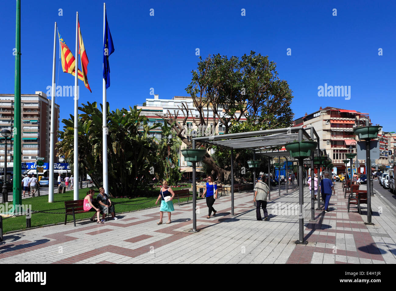 Benidorm Old Town Stock Photos Amp Benidorm Old Town Stock