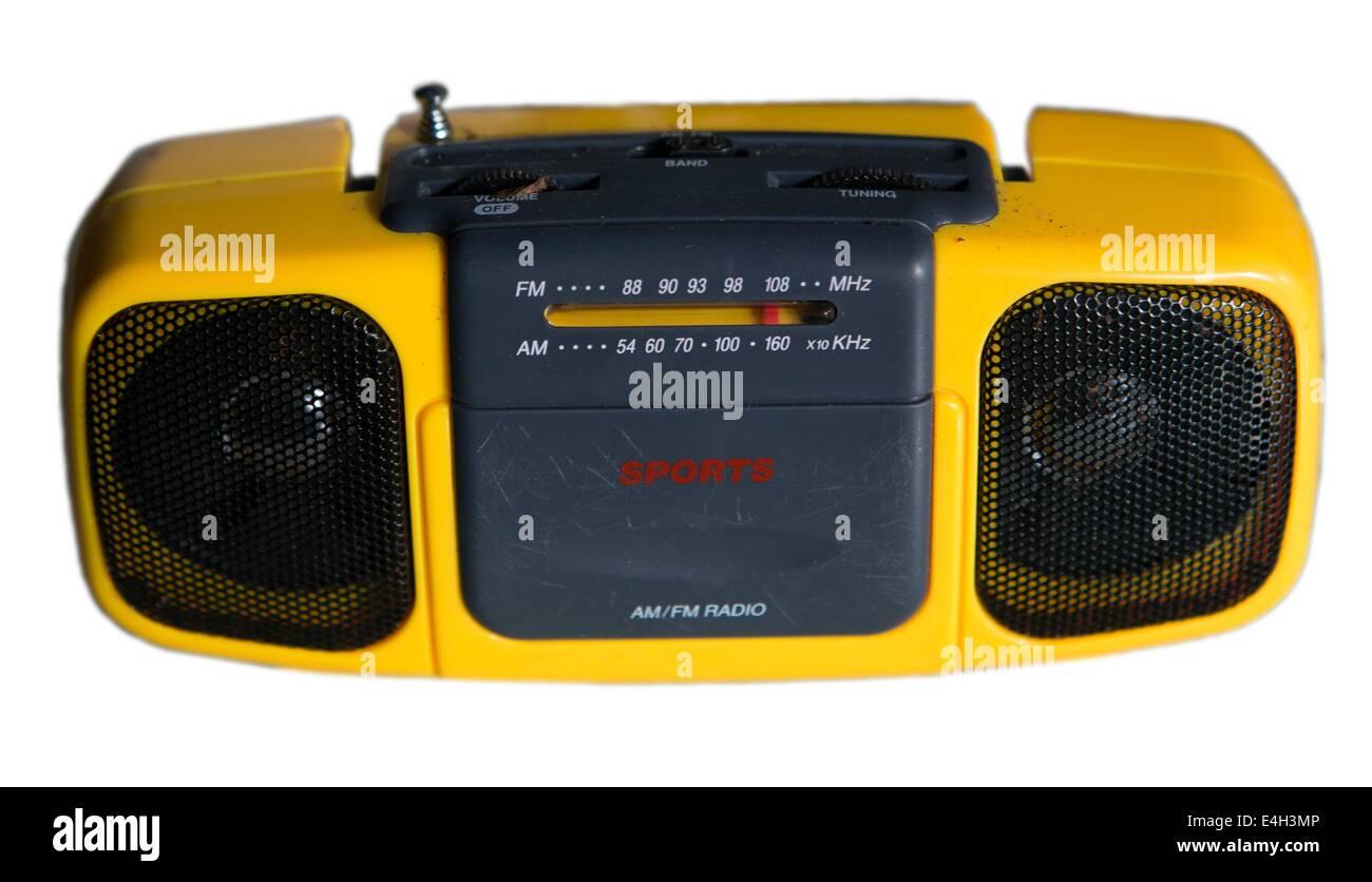 radio - Stock Image