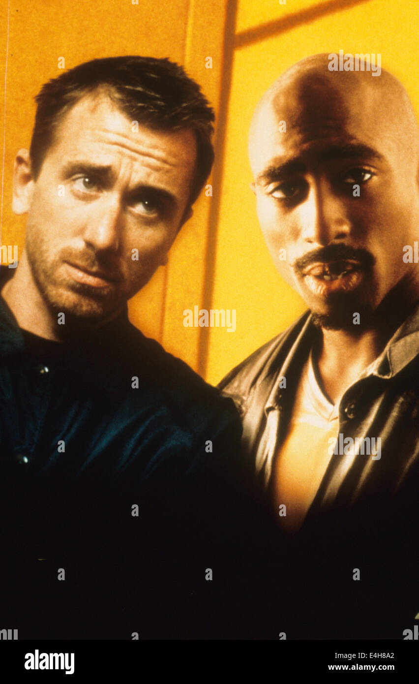 GRIDLOCK'D 1997 Universal Pictures film with Tim Roth at left and Tupac Shakur - Stock Image